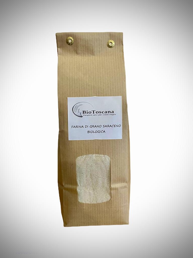 Farina di grano saraceno integrale biologica conf, da 500 g